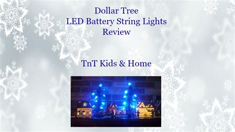 battery lights dollar tree dollar tree led battery string lights review