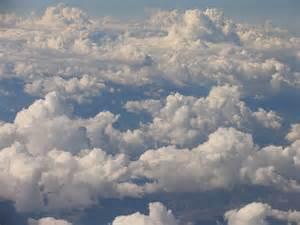 Altocumulus clouds altocumulus