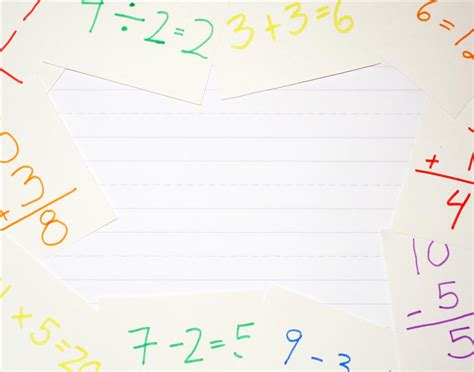 free math time backgrounds for powerpoint education ppt