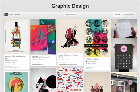 pinterest graphic layout pinterest a tool for designers totally communications