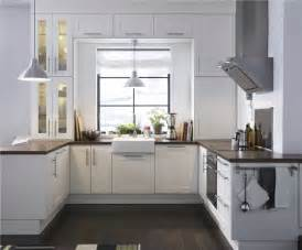 ikea adel medium brown kitchen contemporary with modern