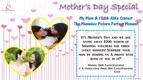 Mother Day Contests And Giveaways - is your child too sick for school mother s day giveaways get back your figure and more