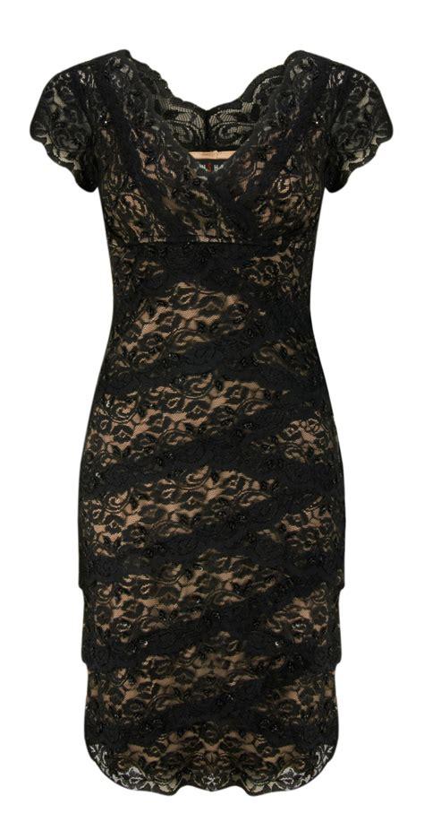 Goldy Lace Dress bernshaw goldie lace dress in black