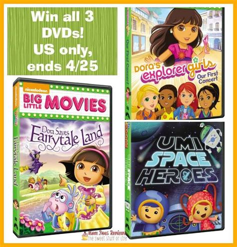 Nickelodeon Giveaway - nickelodeon kids dvd giveaway win 3 dvd s