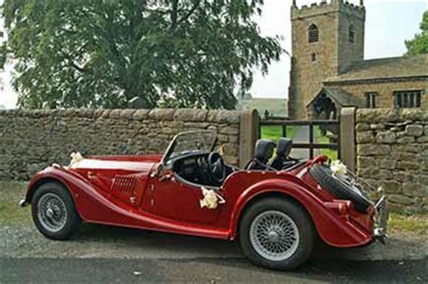 Wedding car hire Yorkshire. Self drive wedding cars