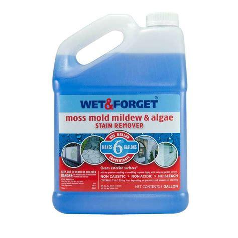 wet forget   gallon moss mold mildew algae