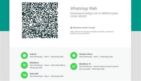 tutorial como utilizar whatsapp web whatsapp web como usar whatsapp desde la pc oficial