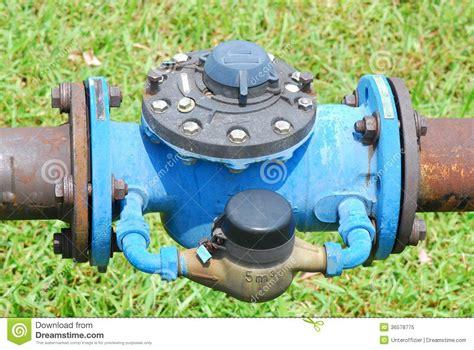 valve installation stock image image of pressure pipe