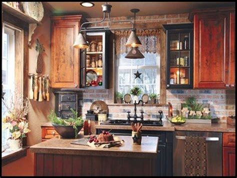 Country Kitchen Wall Decor Ideas Primitive Kitchen Variety Home Decor Pinterest