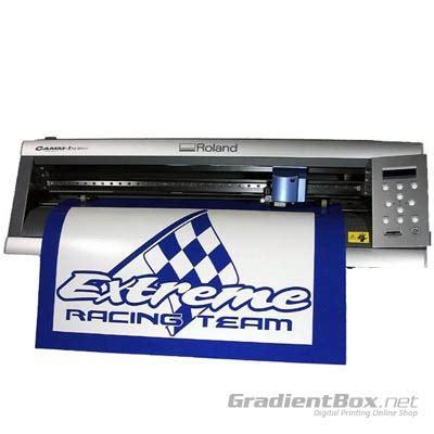 Mesin Laminating Sticker roland camm 1 servo gx 24 mesin cutting harga dan