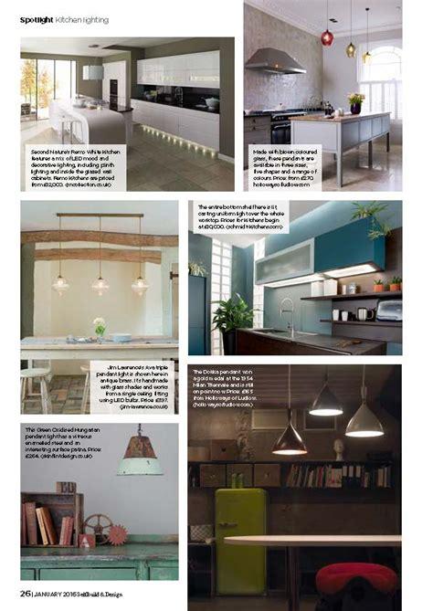 kitchen self design kitchen lighting ideas self build and design magazine