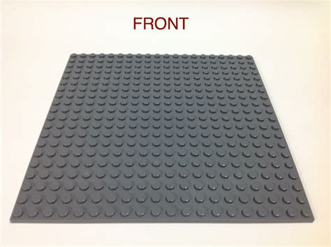 Lego Baseplate Minifigure 20x20 dots lego compatible grey big base plate stand minifigure series baseplate ebay