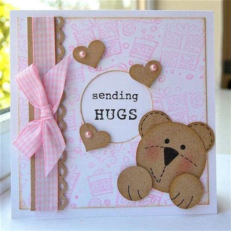 Handmade Hugs - sending hugs all handmade card ideas