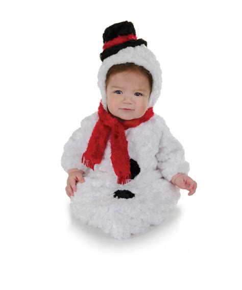 infant baby halloween costumes buycostumescom snowman baby bunting costume christmas costumes