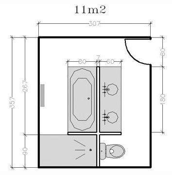 Salle De Bain Sous Pente 755 by Plan De Salle De Bains De 5 224 11 M 178 Conseils D