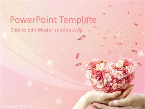 Free Wedding Ppt Template Wedding Powerpoint Templates