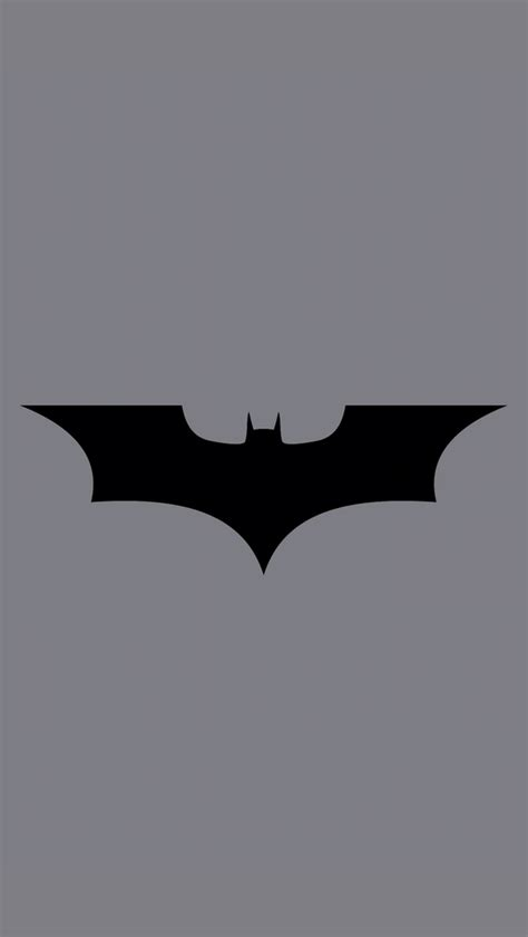 Batman Wallpaper Grey   batman logo grey bg iphone 5 wallpaper 640x1136