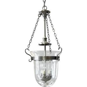 progress lighting essex collection 3 light antique nickel