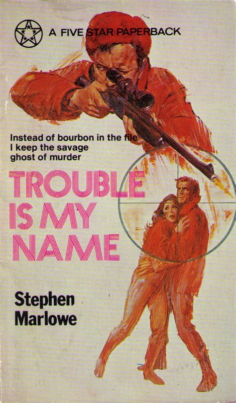 gangs biker boys and real cool cats pulp fiction and youth culture 1950 to 1980 books pulp friday trouble is my name by stephen marlowe pulp
