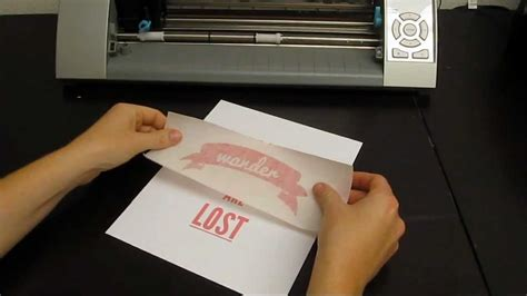 How To Make Adhesive Paper - adhesive vinyl 102