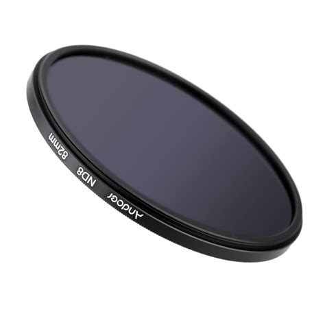 Filter Nd8 82mm andoer 82mm fader nd8 filter neutral density photography filter for nikon canon sigma sony dslrs