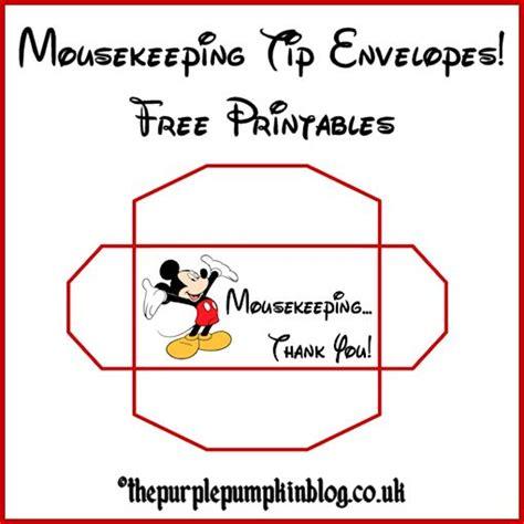 printable housekeeping tip envelopes 17 best images about disney crafts on pinterest disney