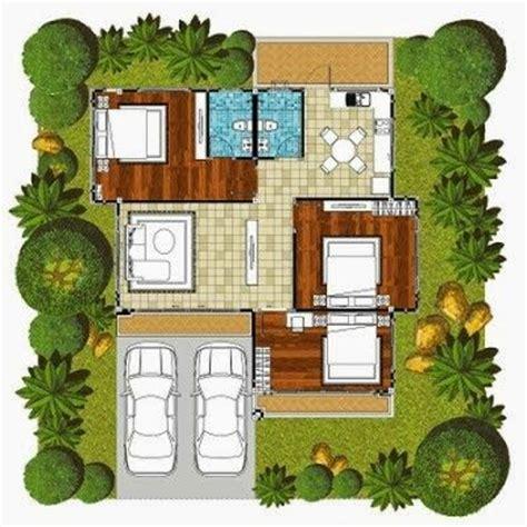 desain kamar 3 x 5 ini adalah contoh desain denah untuk rumah minimalis