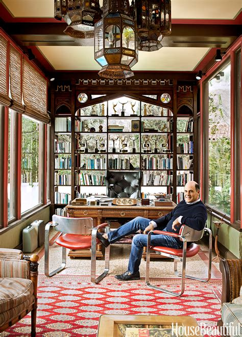 Home Design Inspiration Ideas by Inside Mad Creator Matthew Weiner S Home Office
