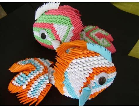 3d Fish Origami - 3d origami koi fish 3 3d origami d