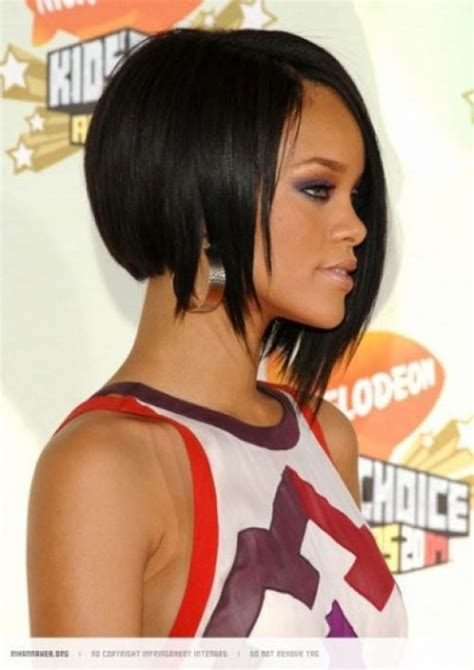 bob cut hairstyles rihanna rihanna hot inverted bob hairstyles fashion trends