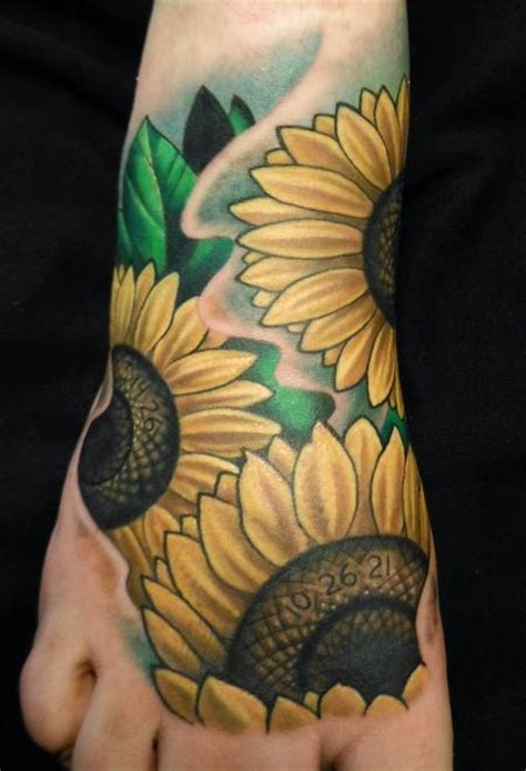 sunflower tattoos page 3
