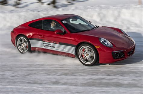 porsche snow snow dancers porsche schools drivers in winter conditions