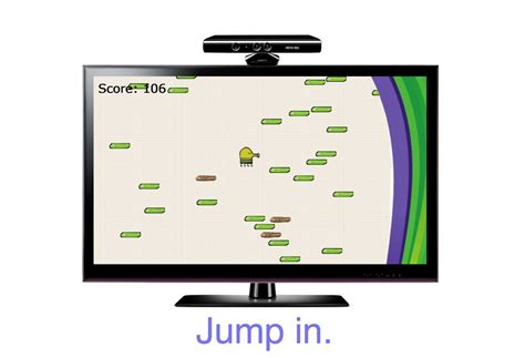 doodle jump xbox kinect doodle jump for kinect debuts on xbox 360 today gizorama