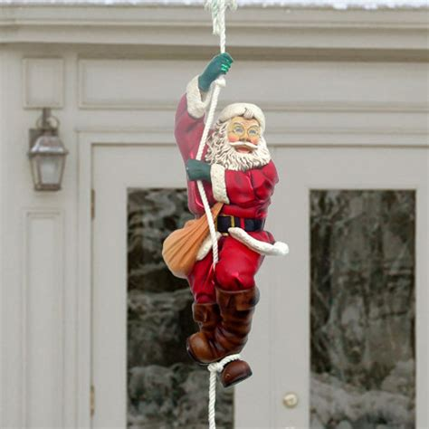 36 quot yab designs large climbing santa decoration