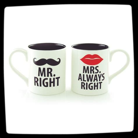 funny coffee mugs mr right and mrs always right funny coffee mug