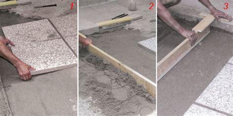 come posare le piastrelle come posare le piastrelle da giardino su sabbia guida