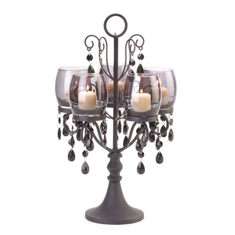 Candelabra Home Decor | midnight elegance candelabra wholesale at koehler home decor