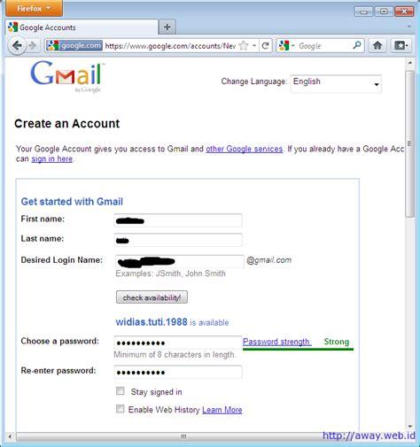 cara membuat akun gmail aman cara mudah dan cepat membuat akun gmail blog anak bangsa