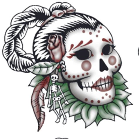 tattoo skull png image ts3 island paradise skull tattoo png the sims