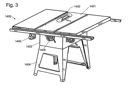 table saw safety mechanism patent us20020017184 table saw with improved safety