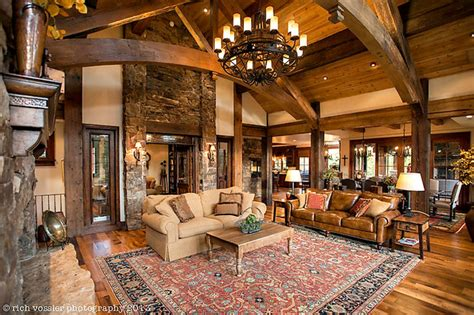 Interior Christmas Decorating Ideas silverthorne residence rustic living room other by