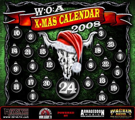 Wacken Heckscheibenaufkleber by Wacken Open Air W O A X Mas Kalender Online
