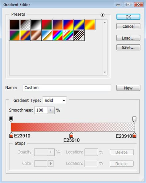 photoshop cs3 gradient tool tutorial colorful abstract dna background via custom shapes in