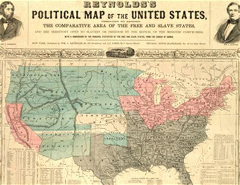 united states map post civil war the american civil war features of bridgeman images