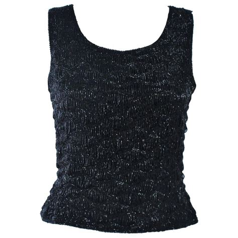 beaded blouse vintage beaded handmade black beaded evening blouse