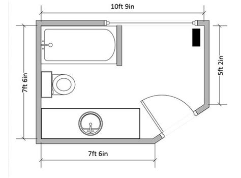 hate the layout of my house need help with awkward bathroom layout