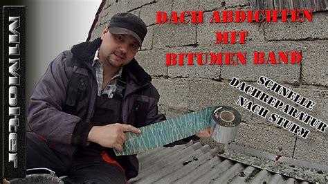 vordach abdichten dach abdichten mit bitumen band dach reparaturband