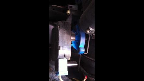 air flow positioning motor  fault youtube