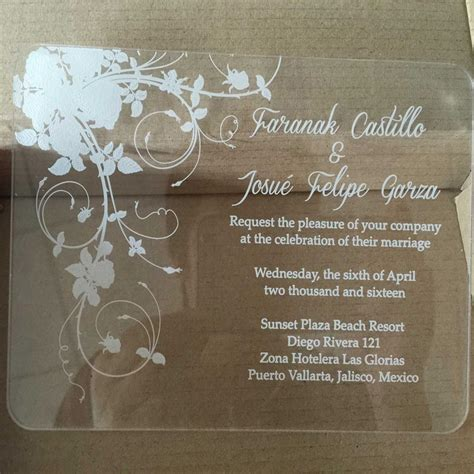 aliexpress invitation code sle order for laser engraving clear acrylic wedding