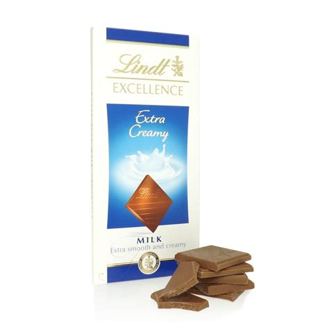 Unique Christmas Gifts For Her by Buy Lindt Excellence Extra Creamy Chocolate Bar Lindt